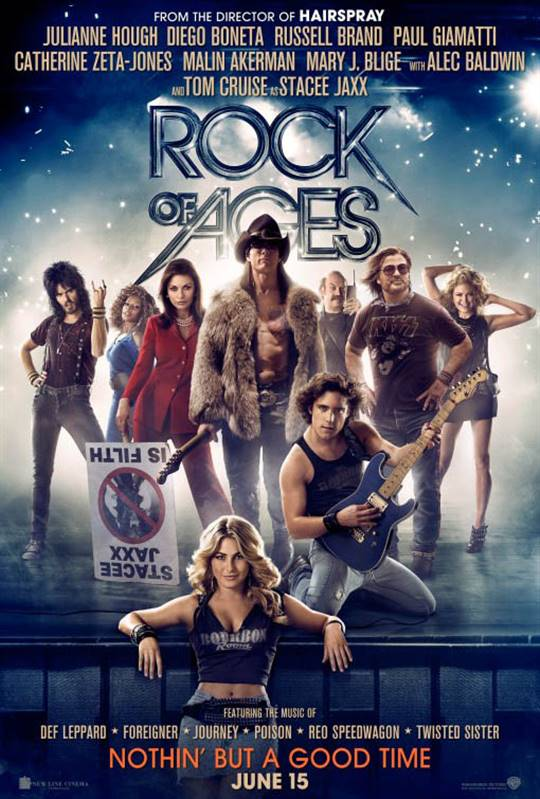 Rock of Ages Large Poster