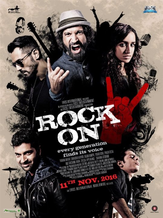 Rock On 2 Large Poster