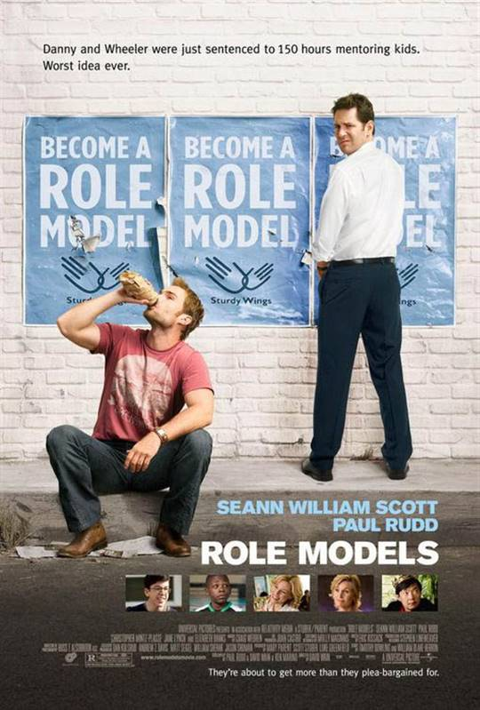 Role Models (2008) Large Poster