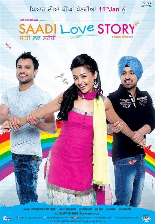 Saadi Love Story Large Poster