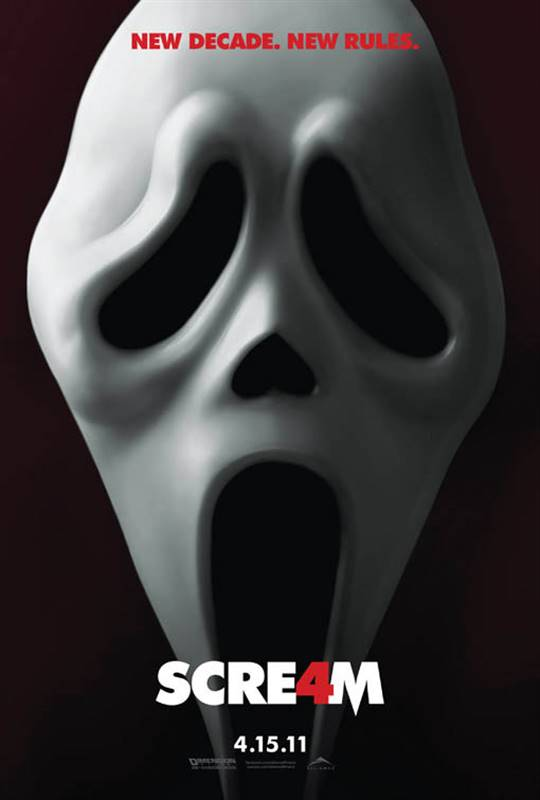 Scream 4 Large Poster