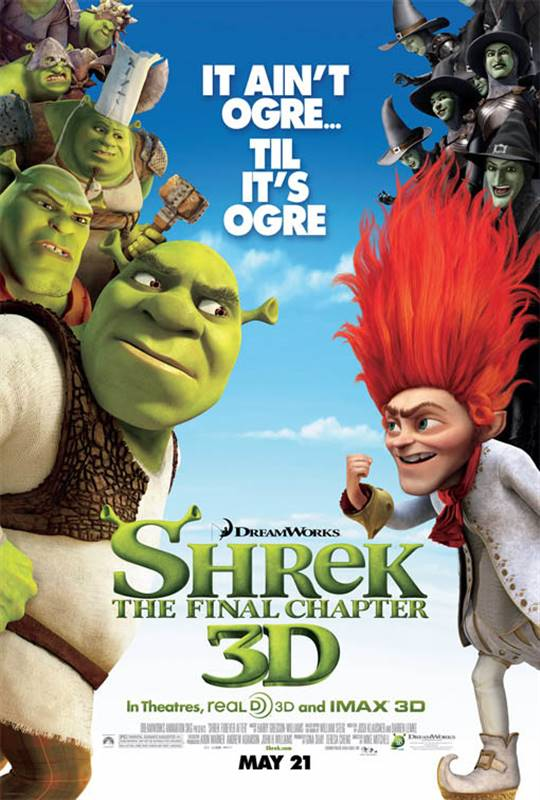 Shrek Forever After Large Poster