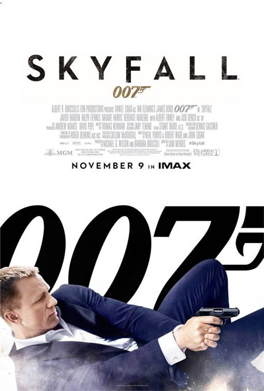 Skyfall Large Poster