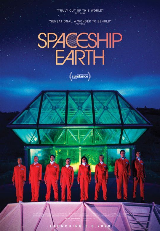 Spaceship Earth Large Poster