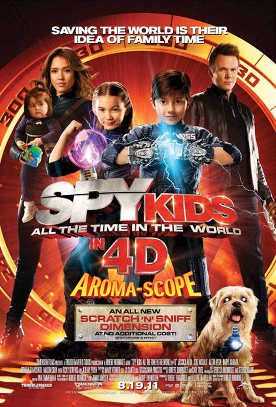 Spy Kids: All the Time in the World Large Poster