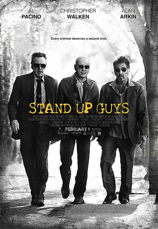 Stand Up Guys Large Poster
