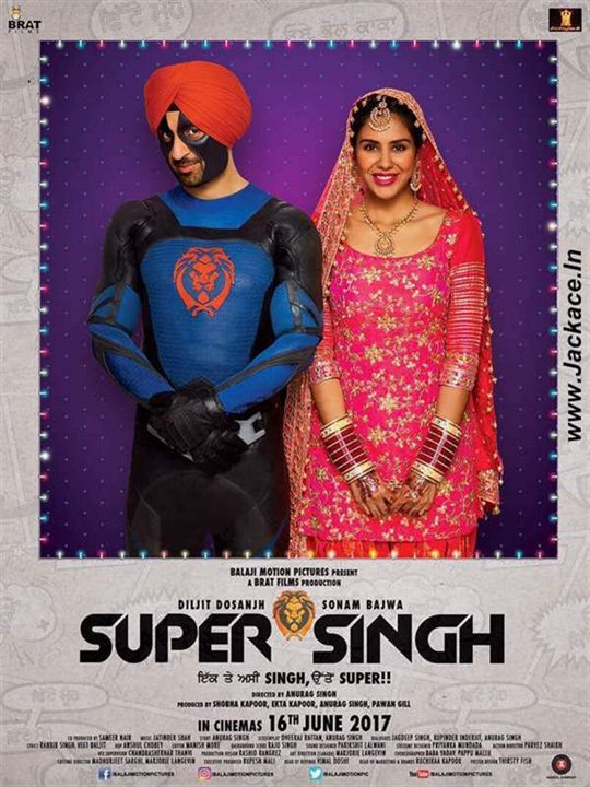 Super Singh Large Poster