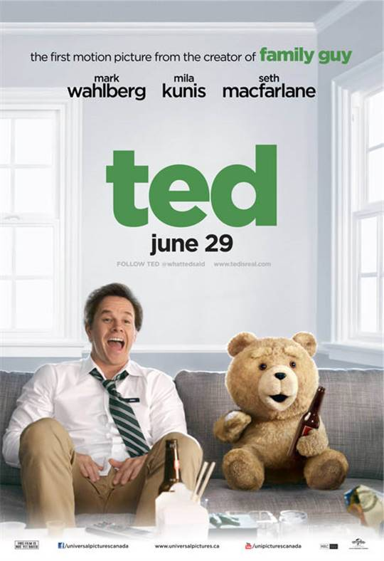 Ted Large Poster