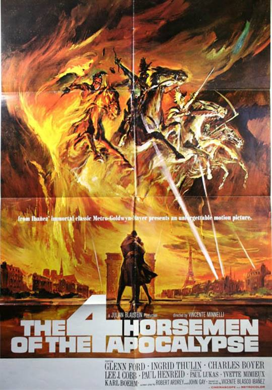 The Four Horsemen of the Apocalypse Large Poster