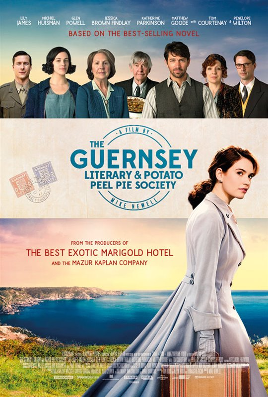 The Guernsey Literary and Potato Peel Pie Society Large Poster
