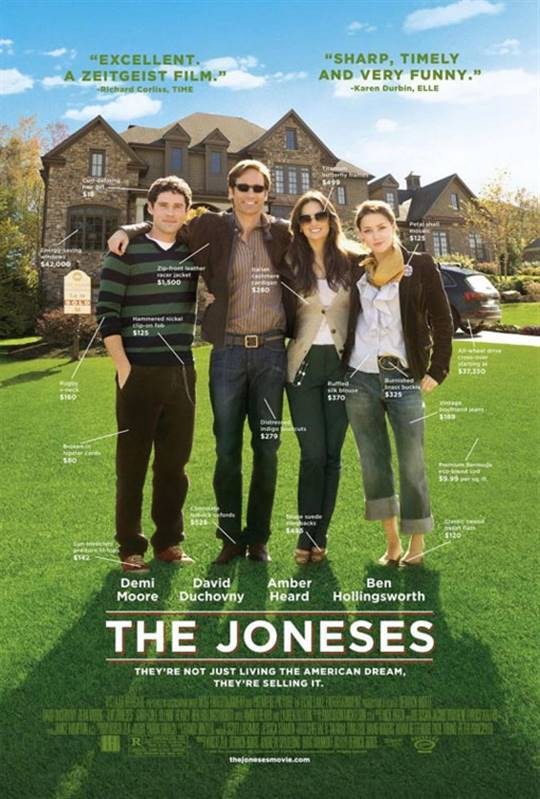 The Joneses (2010) Large Poster