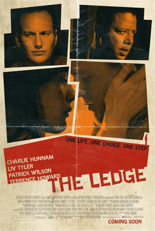 The Ledge Large Poster