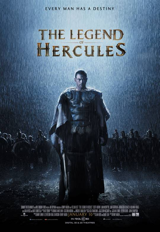 The Legend of Hercules Large Poster