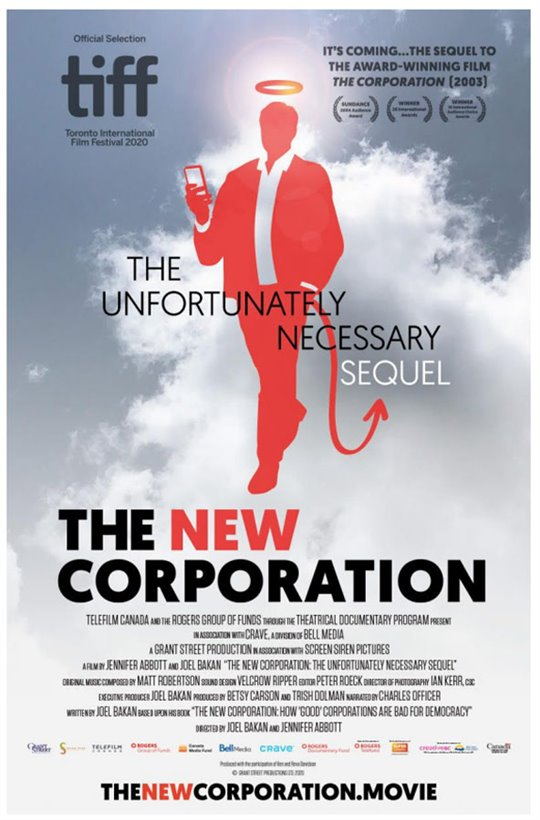 The New Corporation: The Unfortunately Necessary Sequel Large Poster