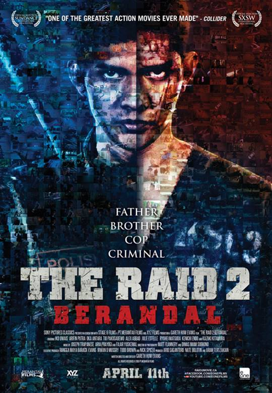 The Raid 2: Berandal Large Poster