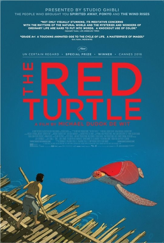The Red Turtle Large Poster
