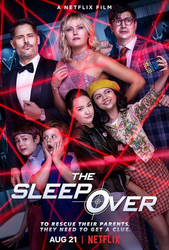 The Sleepover (Netflix) Large Poster