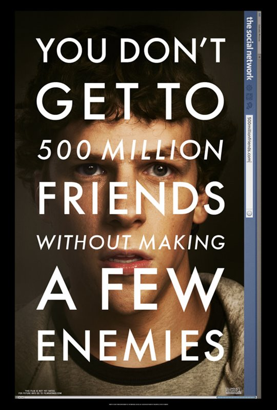 The Social Network Large Poster