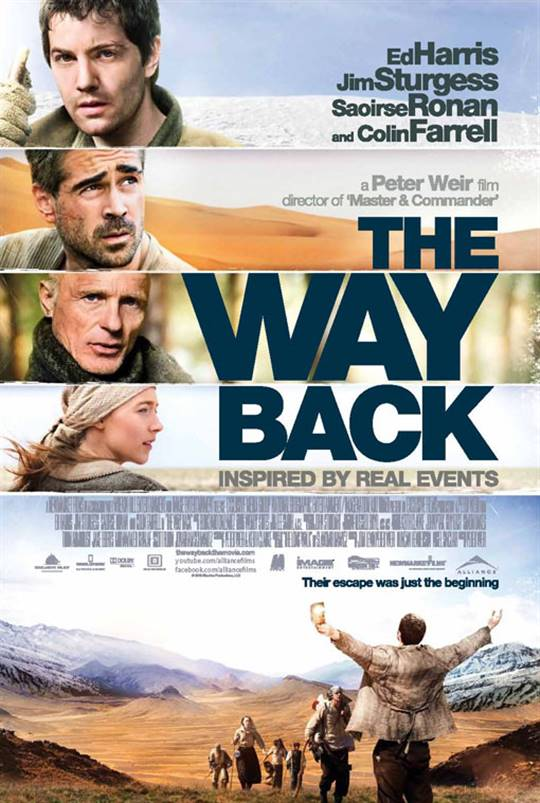 The Way Back Large Poster