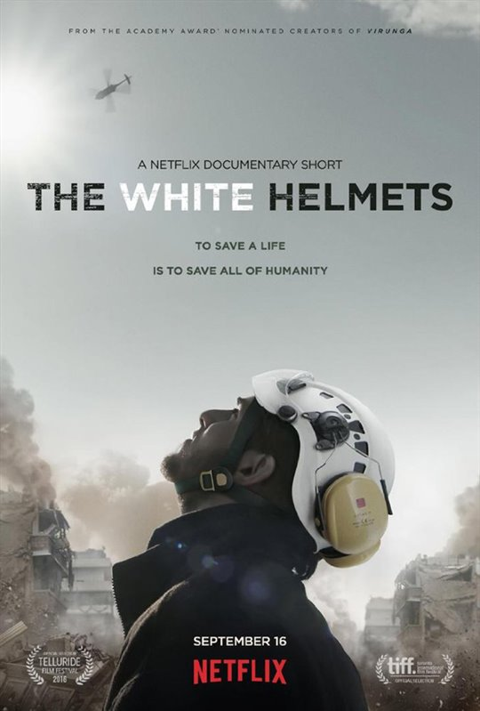 The White Helmets (Netflix) Large Poster