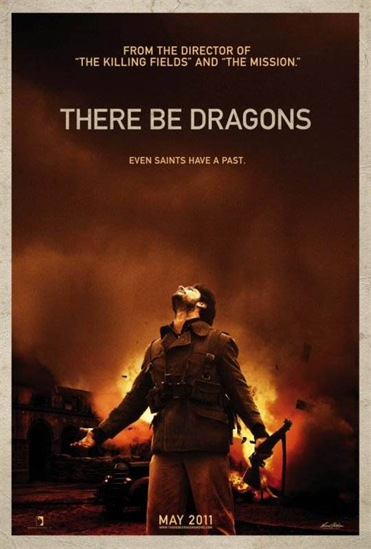 There Be Dragons Large Poster