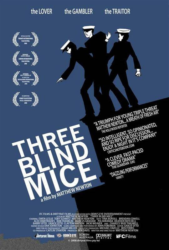 Three Blind Mice Large Poster