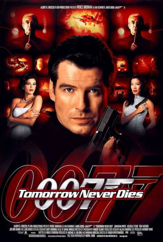 Tomorrow Never Dies Large Poster