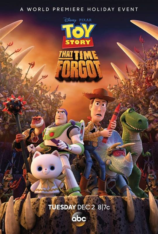 Toy Story That Time Forgot Large Poster