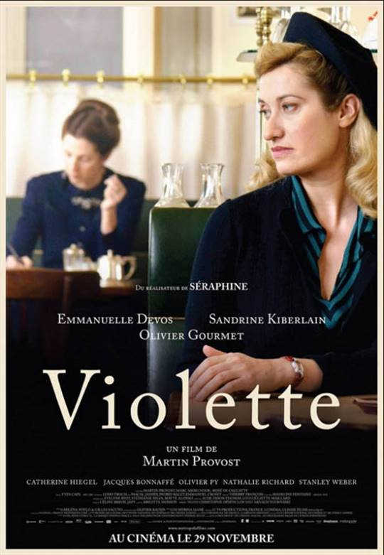 Violette Large Poster