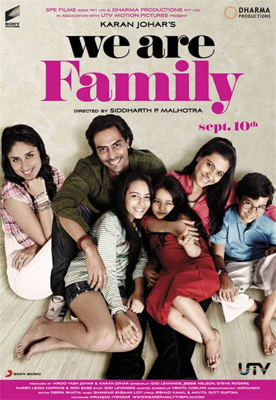 We Are Family Large Poster