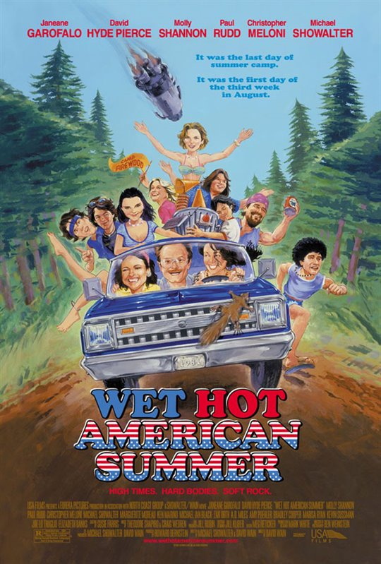 Wet Hot American Summer Large Poster