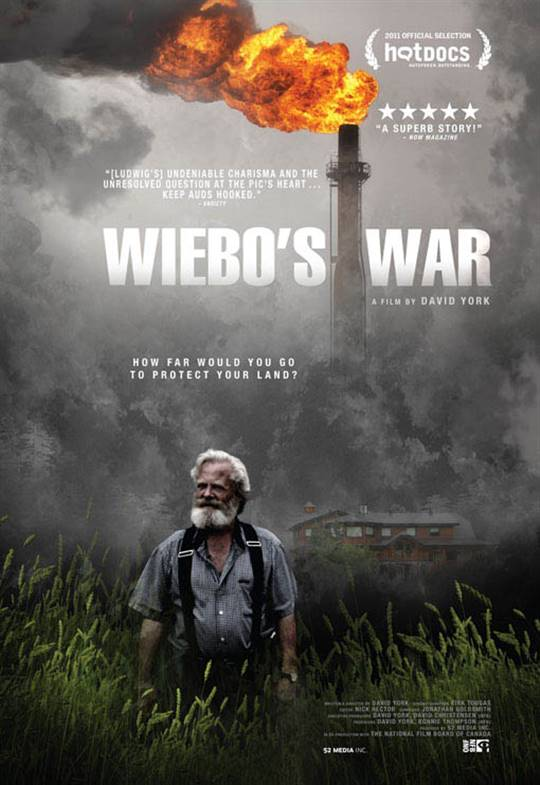 Wiebo's War Large Poster