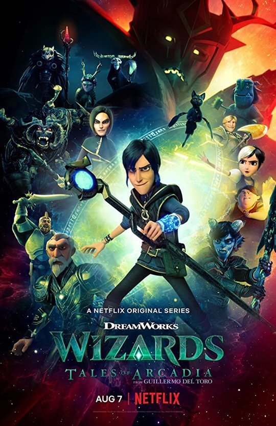 Wizards: Tales of Arcadia (Netflix) Large Poster