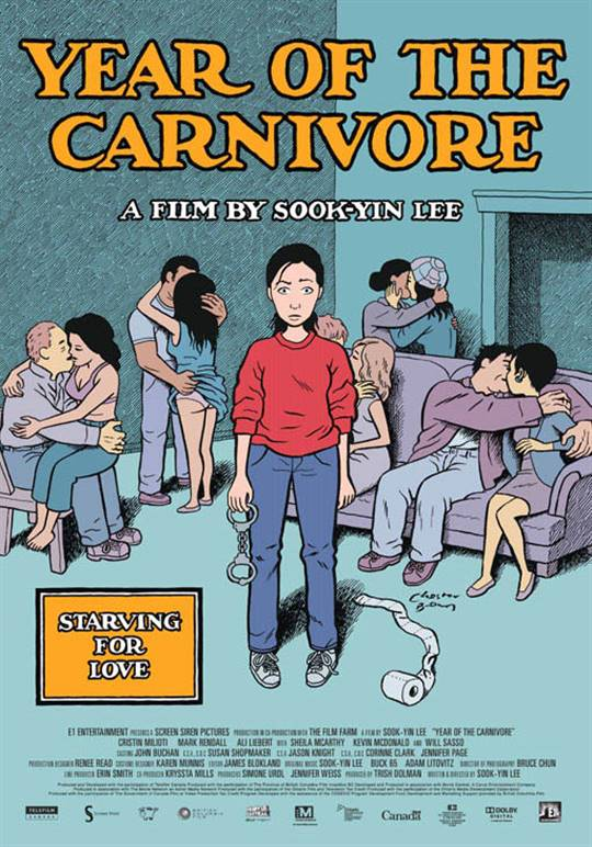 Year of the Carnivore Large Poster