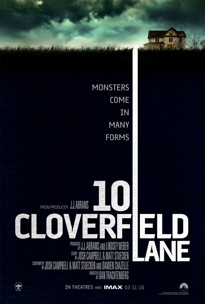10 Cloverfield Lane Large Poster