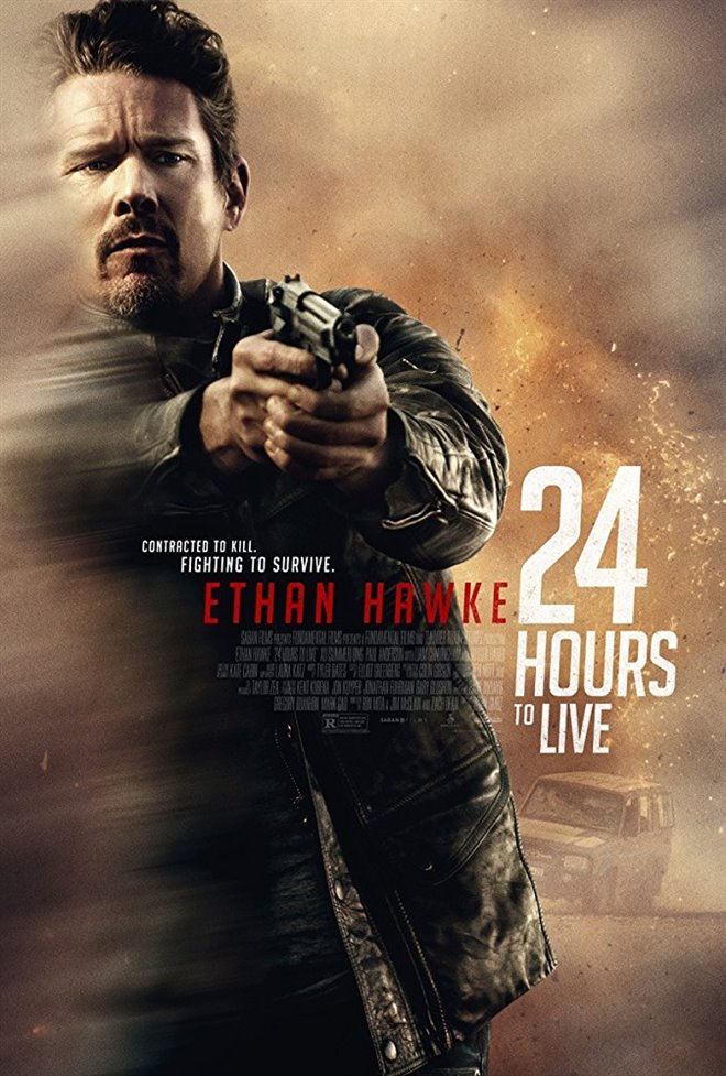 24 Hours to Live Large Poster