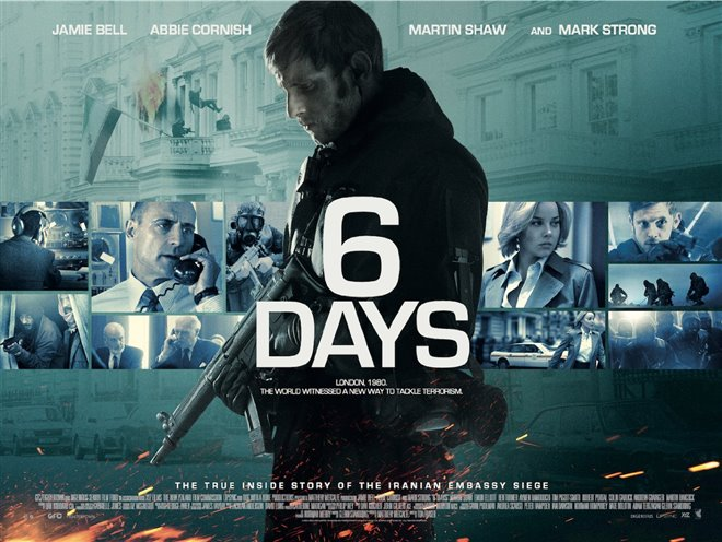 6 Days Large Poster