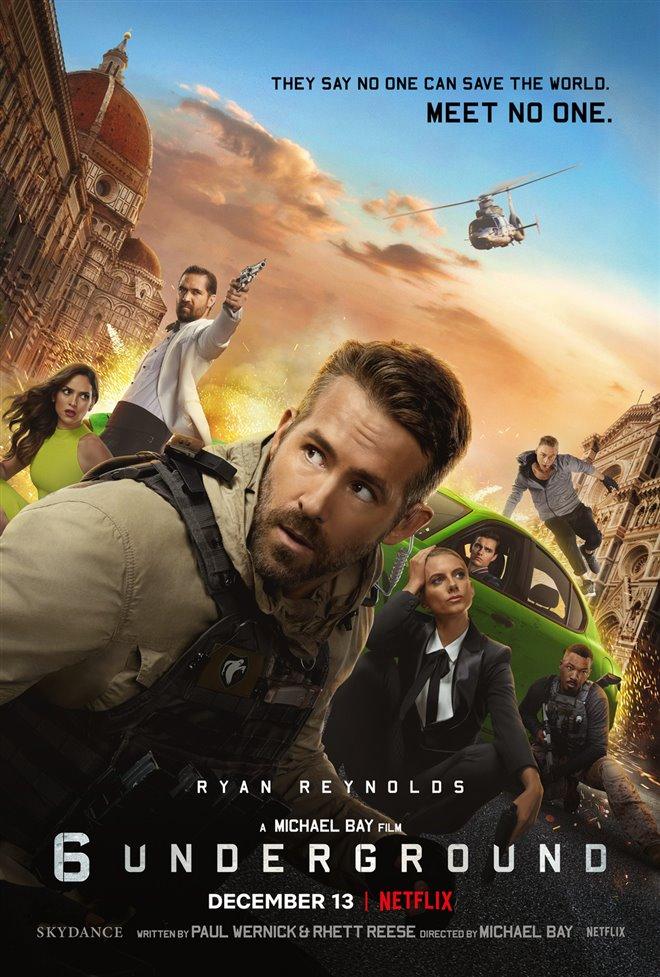 6 Underground (Netflix) Large Poster