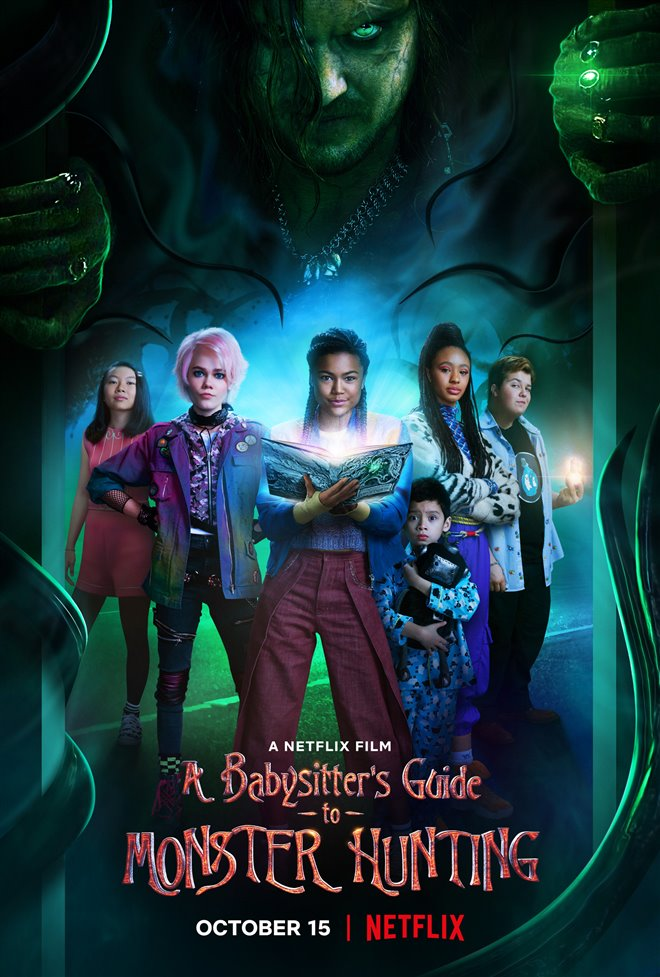 A Babysitter's Guide to Monster Hunting (Netflix) Large Poster