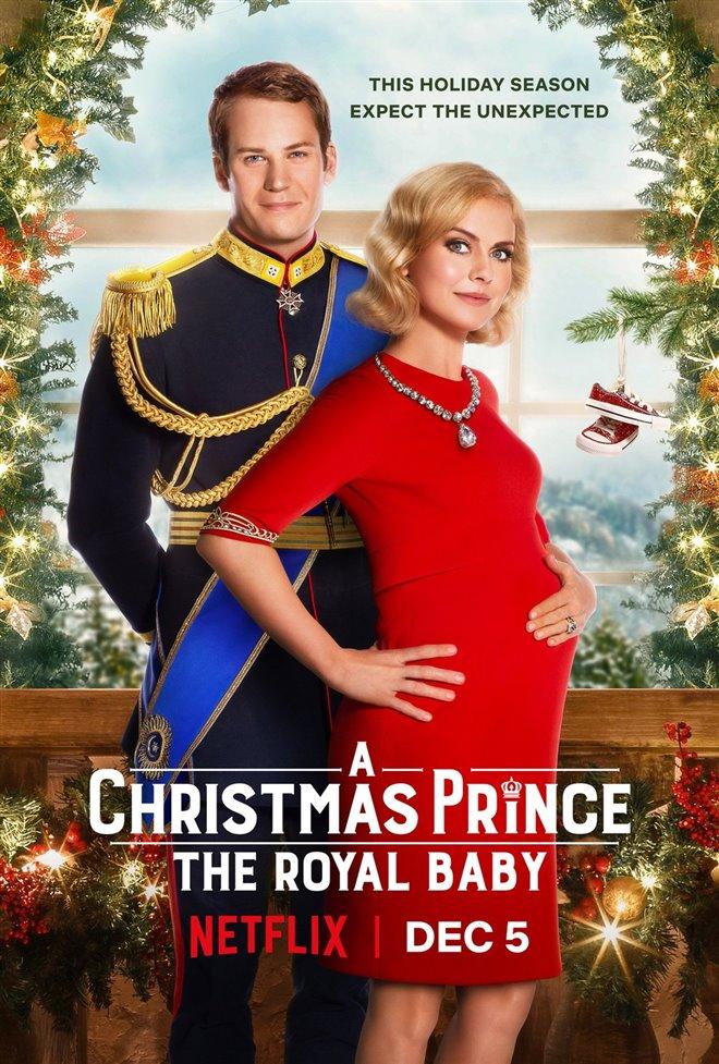 A Christmas Prince: The Royal Baby (Netflix) Large Poster