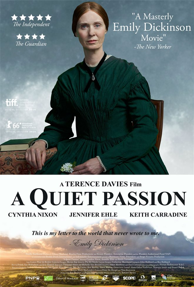 A Quiet Passion Large Poster