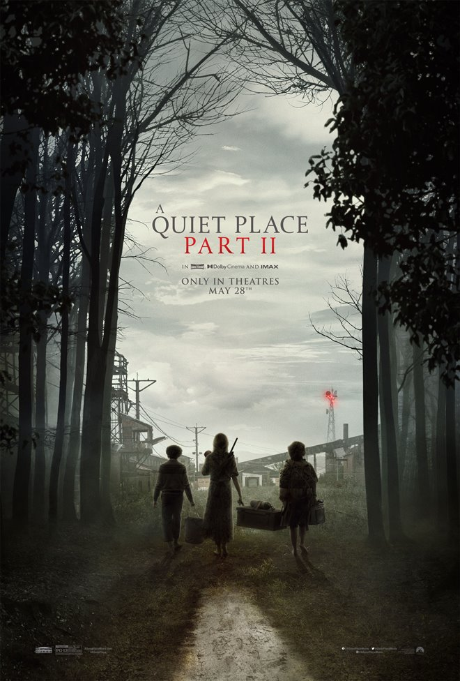 A Quiet Place Part II Large Poster