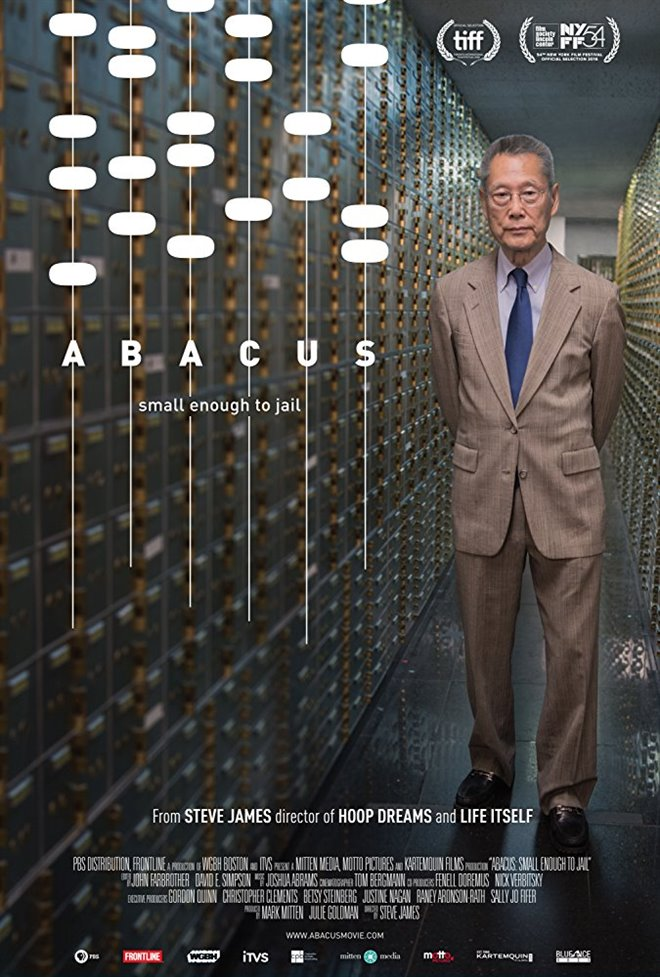 Abacus: Small Enough to Jail Large Poster