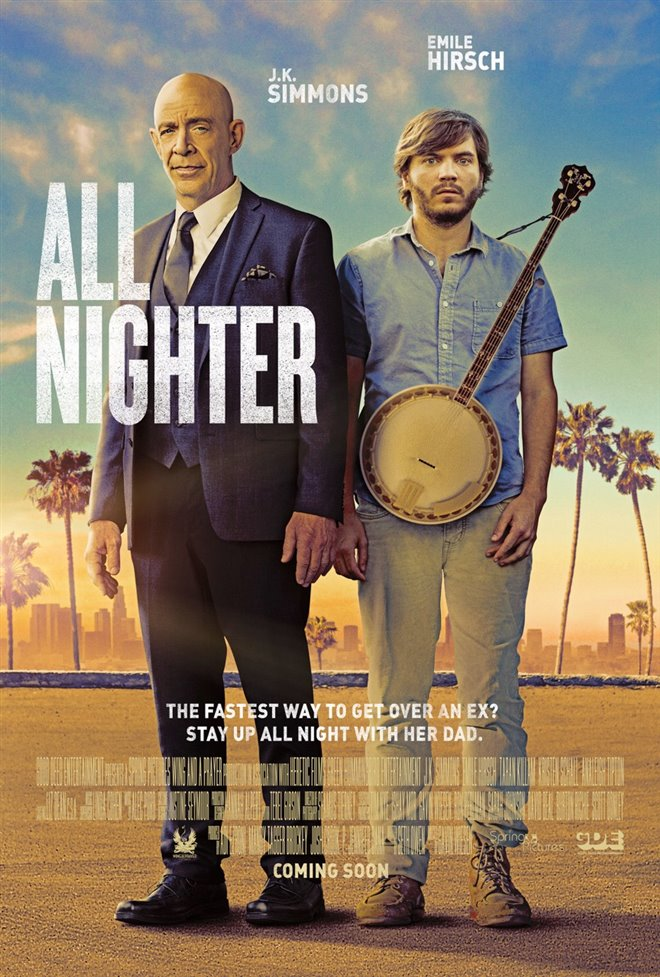 All Nighter Large Poster