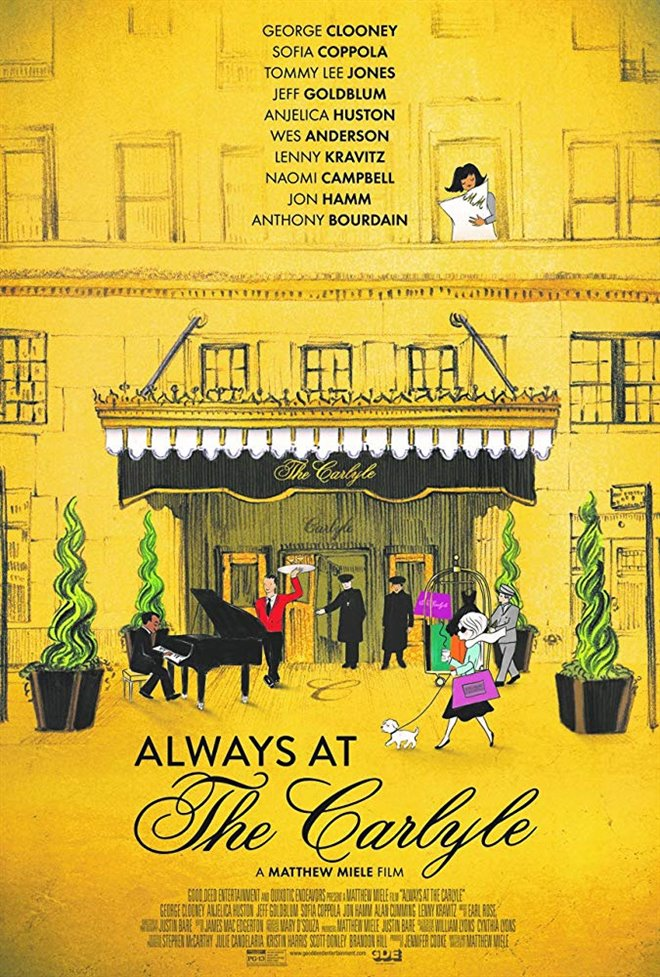 Always at The Carlyle Large Poster