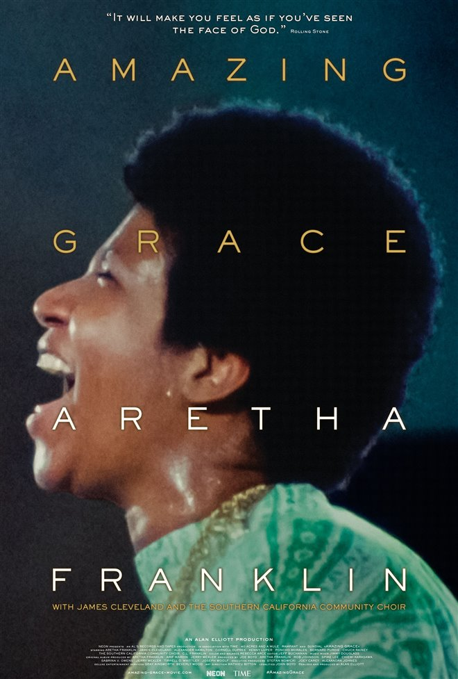 Amazing Grace Large Poster