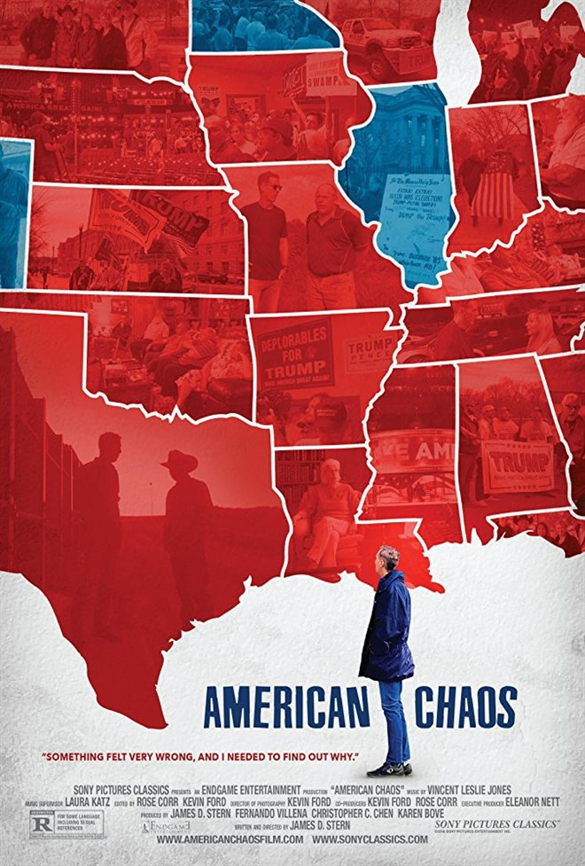 American Chaos Large Poster