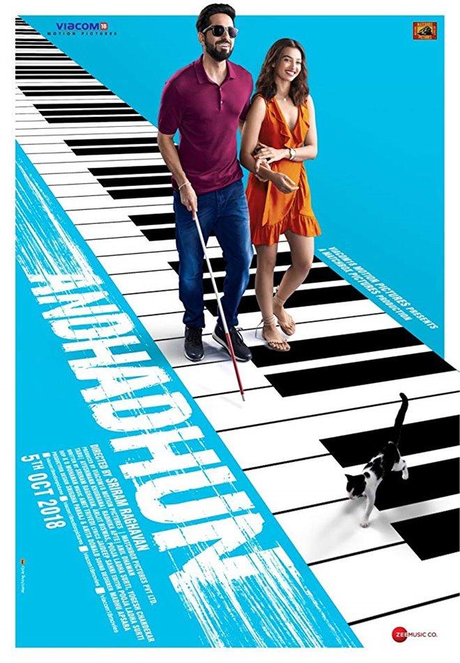 Andhadhun Large Poster