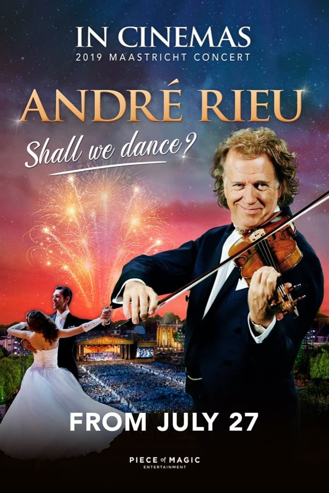 André Rieu's 2019 Maastricht Concert - Shall We Dance? Large Poster