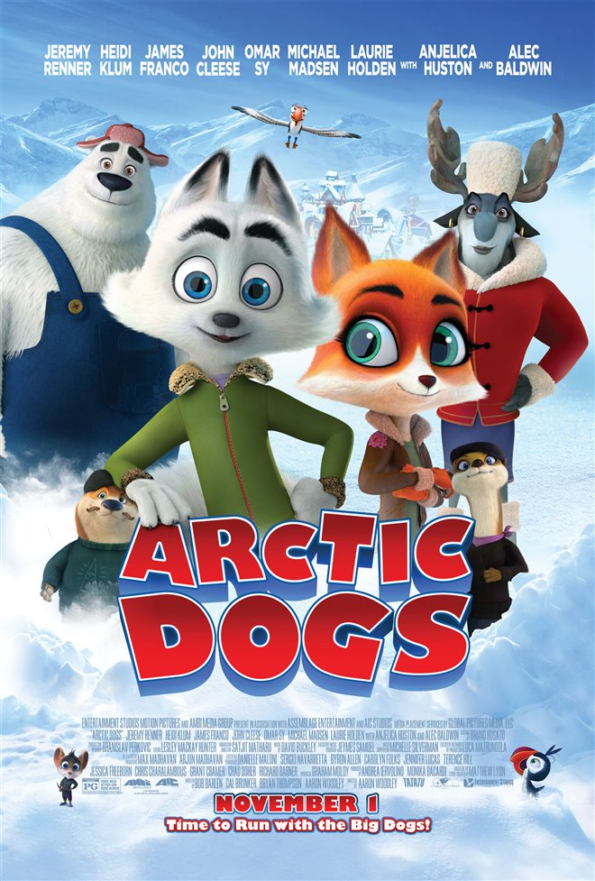 Arctic Dogs Large Poster